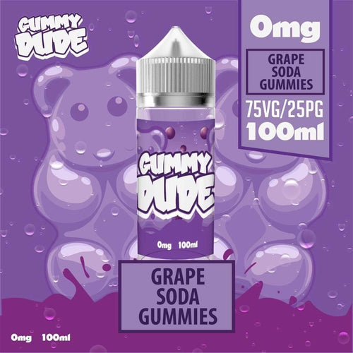 GRAPE SODA 80ML By GUMMY DUDE (SHORTFILL)