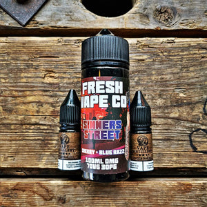 Sinners Street 100ml by Fresh as F**k E-Liquid
