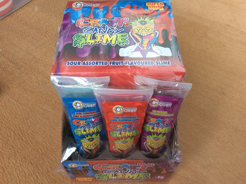 Crazy Candy Slime 12 tubes