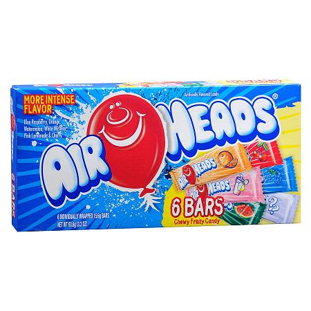 Airheads Candy Bars 6pk