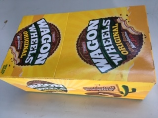Arnotts Wagon Wheels 48g biscuts 16 in a box