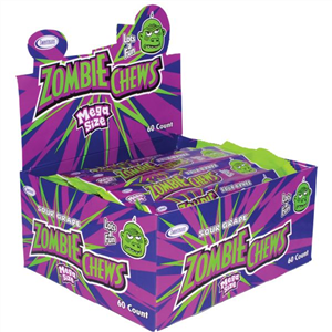 ZOMBIE CHEWS GRAPE 28g x 60 units)