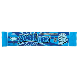 ZOMBIE CHEWS Blue Rasberry  28g x 60 units)