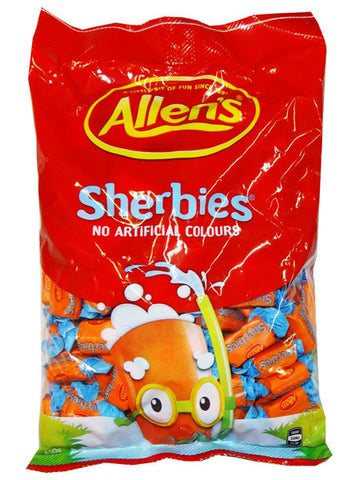 Allens Sherbies 850g Bag