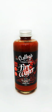 Culleys Firewater hot sauce