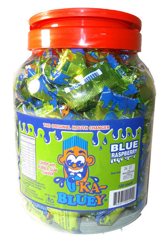 Ka-Bluey Candy with Bubble Gum Centre x 100 pieces in a Jar