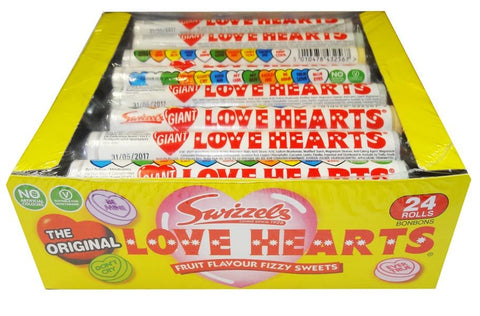 Swizzels Love Heart Roll Giant