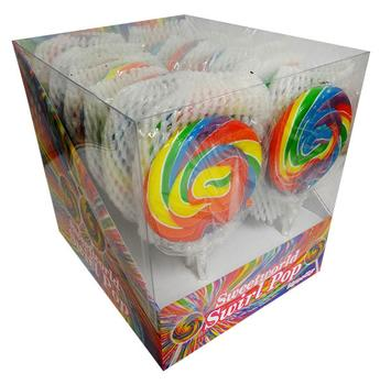 SWEETWORLD SWIRL POP - RAINBOW ( 80G) single.