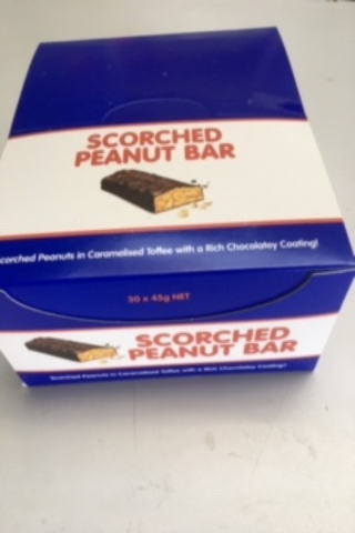 Scorched Peanut Bars 45g
