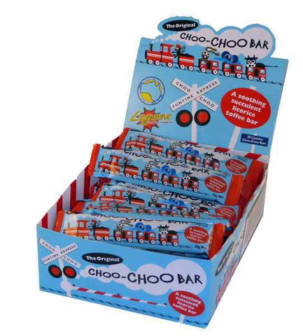 Choo Choo Bars Licorice 50x20g
