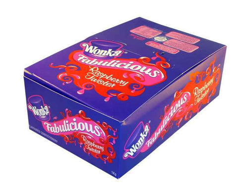 RJs  Fabulicious Raspberry Twister (90 per box)( were Wonka)