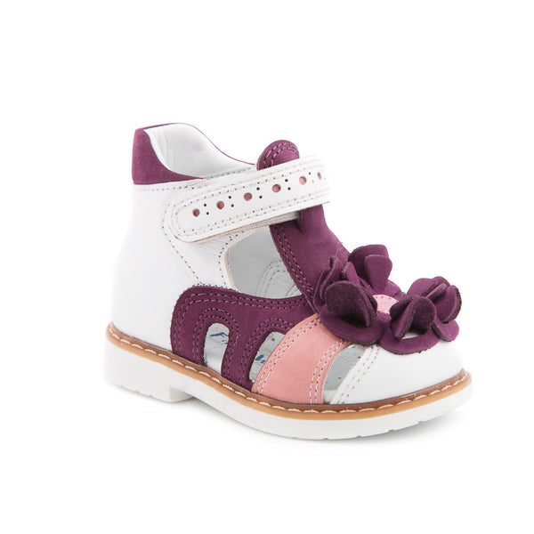Hero Image for PINKIE ANNIE classy white and purple sandals