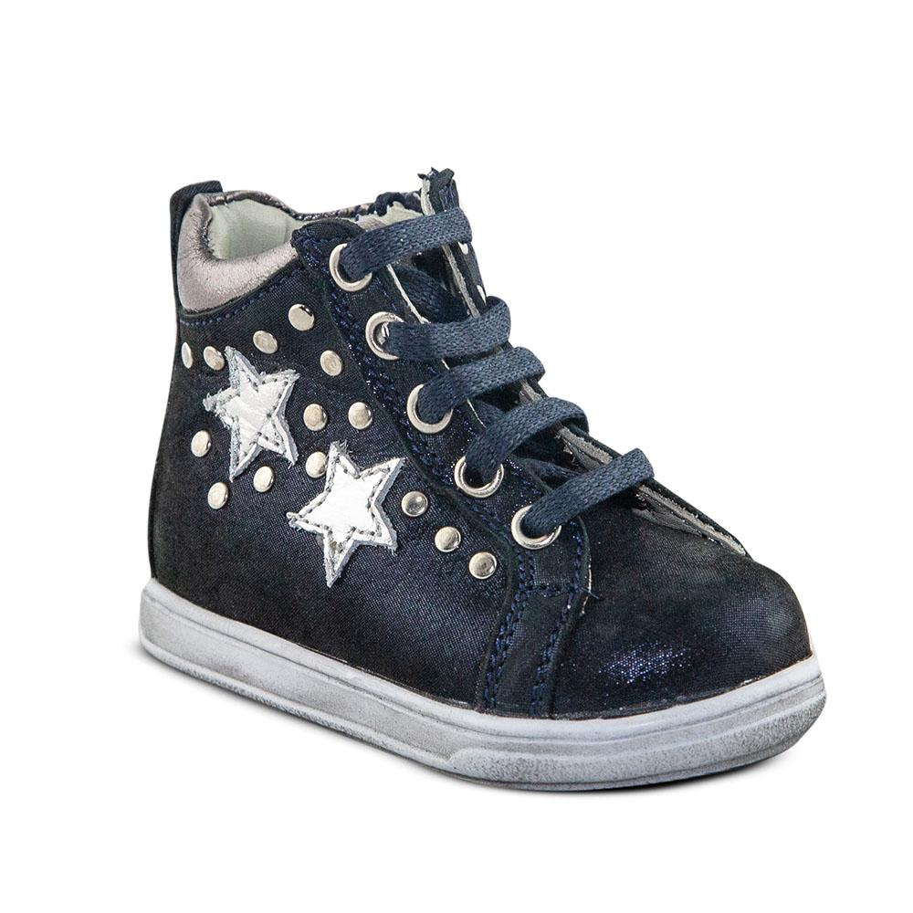 Hero Image for GALACTIC NICHOLE navy stars orthopaedic high-top sneakers