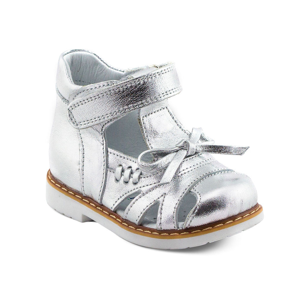 Hero Image for SILVERY ELLIE t-strapped toddler sandals