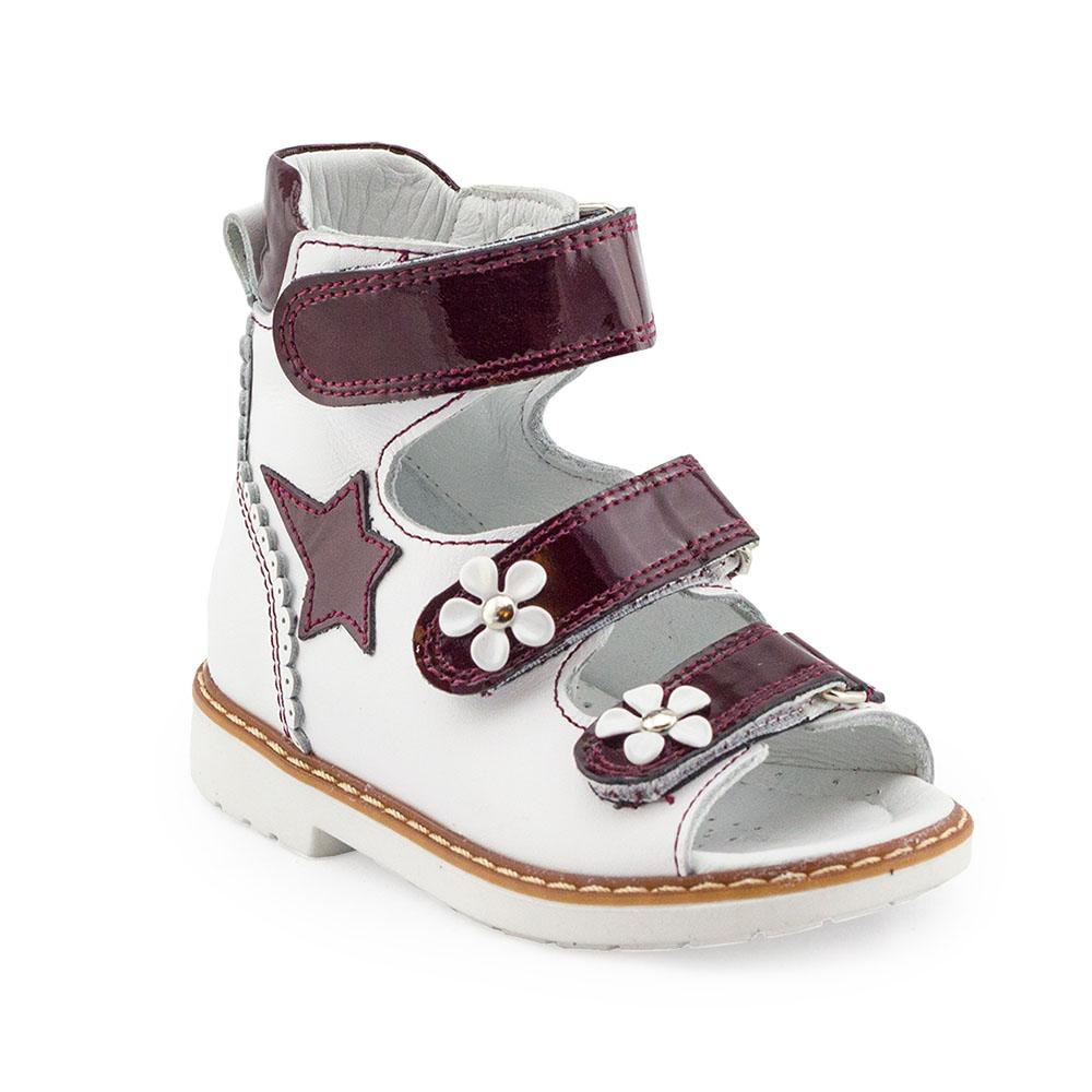 Hero Image for STELLAR ISABELLA white orthopaedic high-top sandals