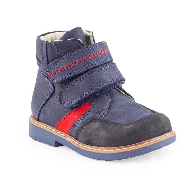 Hero Image for SMOOTH OWEN navy orthopaedic high-top boots