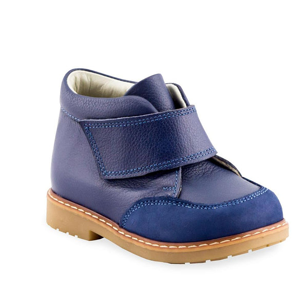 Hero Image for AUDREY LA MODE navy orthopaedic high-top boots