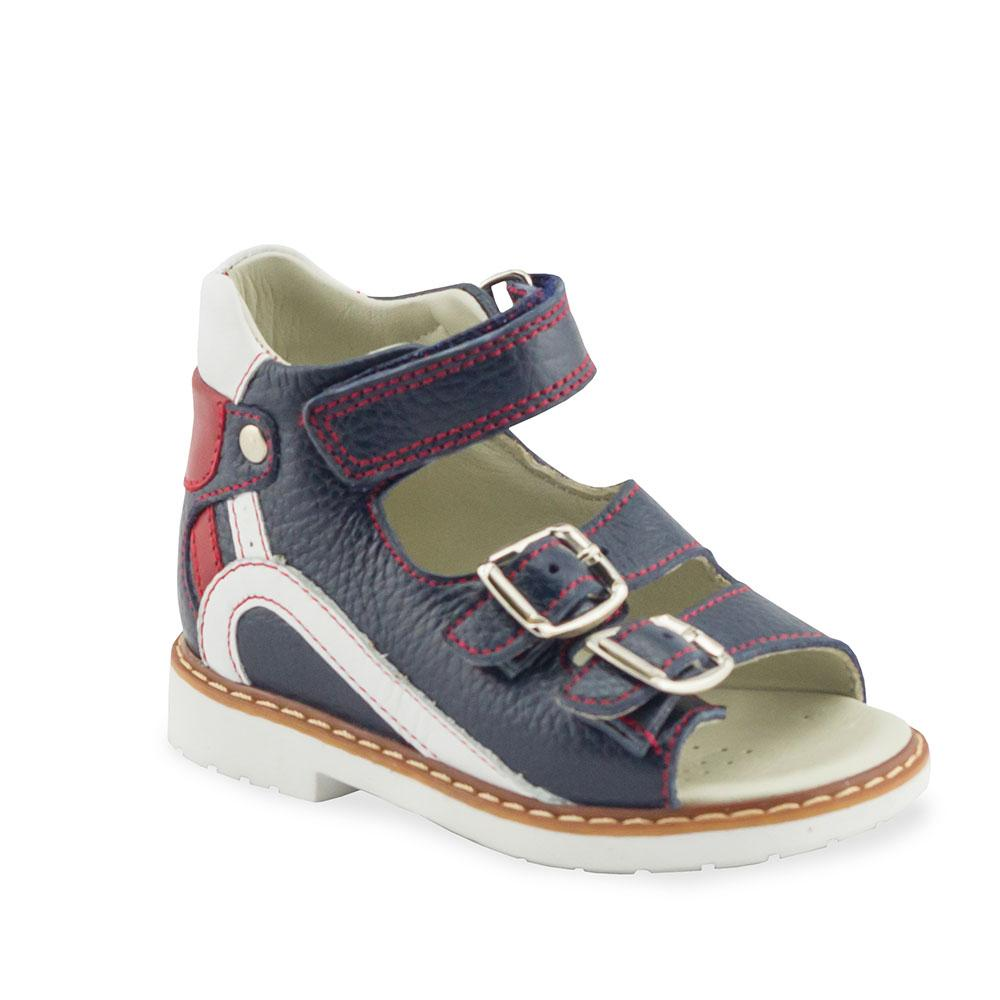 Hero Image for NICK B. HARDY navy orthopaedic sandals