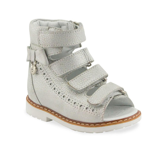 Hero Image for CLUEY LUCY silver orthopaedic high-top sandals