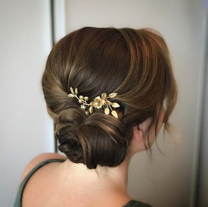 Helena | Gold hair comb