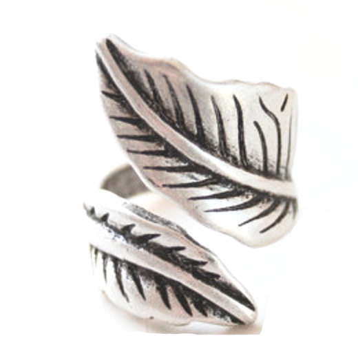 Leaf Wrap Ring - Adjustable