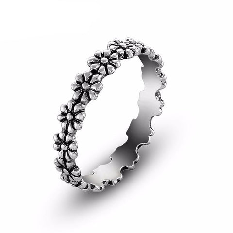 Daisy Chain Ring - Adjustable