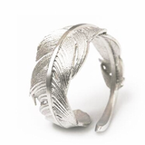 Freedom Feather Ring - Adjustable
