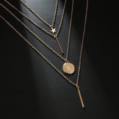 Timeless Layered Pendant Necklace