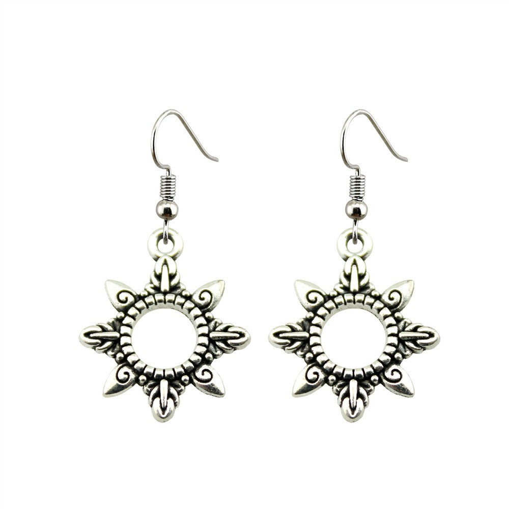 bali sunshine drop earrings