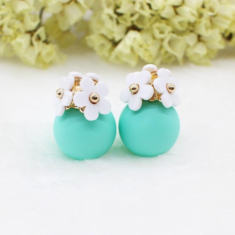 Flower Trio Stud Earrings