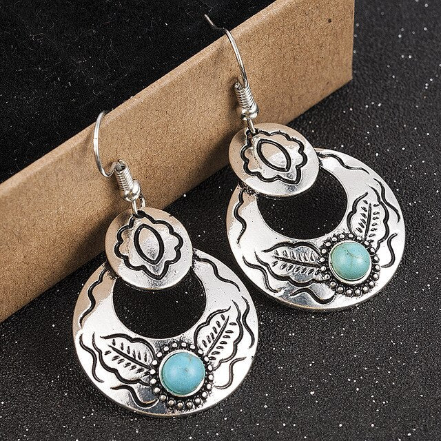 Turquoise Treasure Earrings