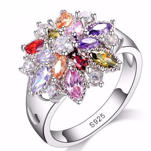 Majestic Wildflower Ring