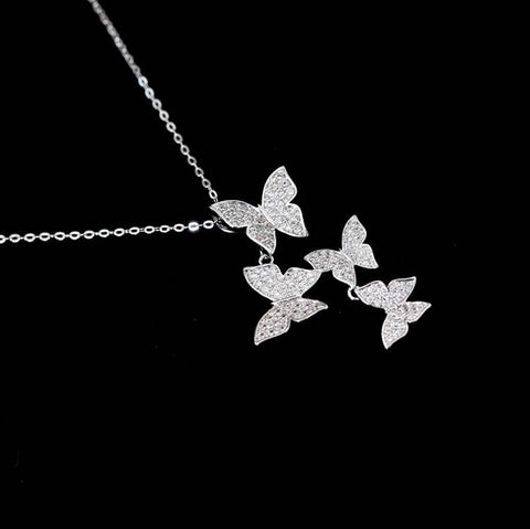 Chasing Butterflies Necklace