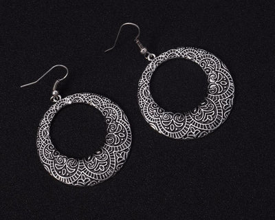 Classic Bali Hoop Earrings