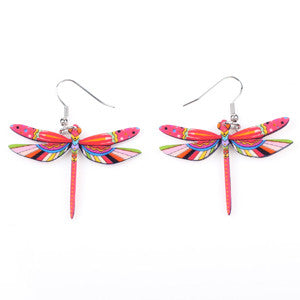 Woodland Dragonfly Earrings