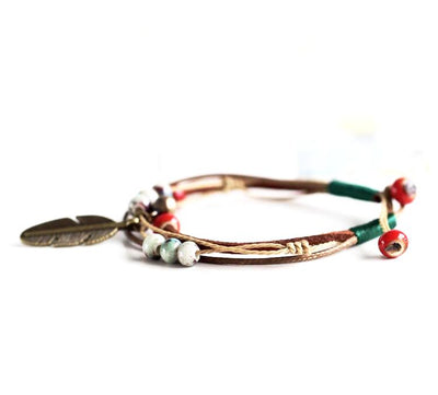 Spirited Feather Bracelet