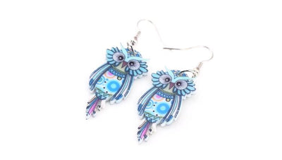 Woodland Owl Earrings