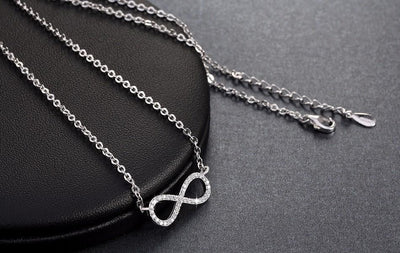 Infinity Crystal Necklace