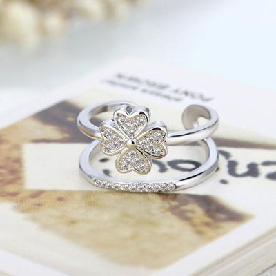 Petals of the Heart Ring - Adjustable