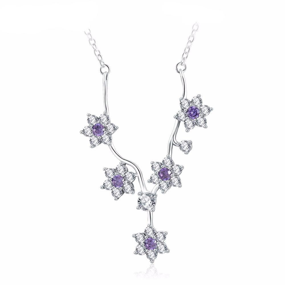 Elegant Brodiaea Necklace
