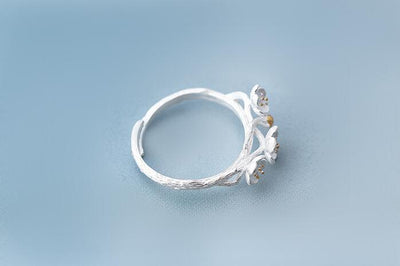 Cherry Blossom Ring - Adjustable