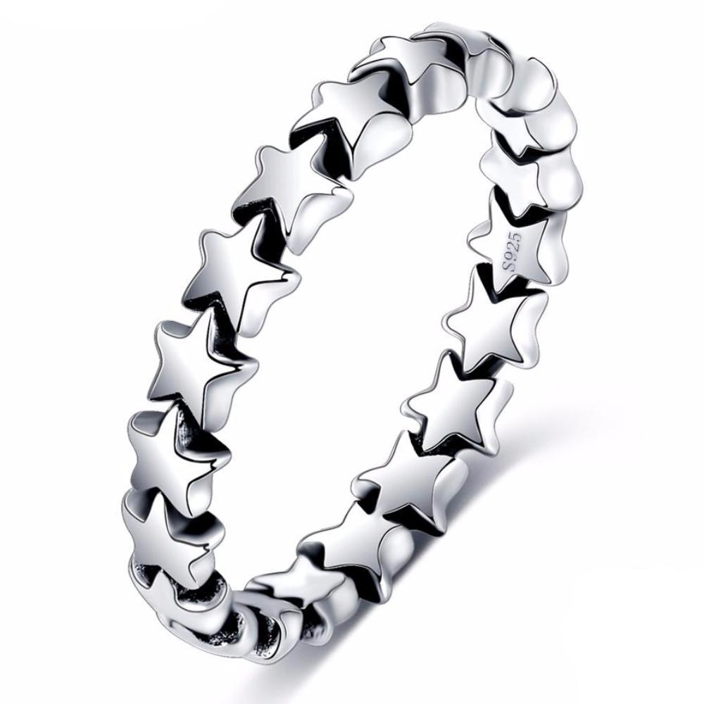 Band of Stars Ring