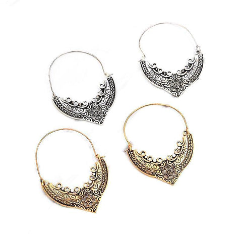 Rising Sun Bali Earrings