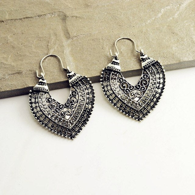 Bali Heart Earrings