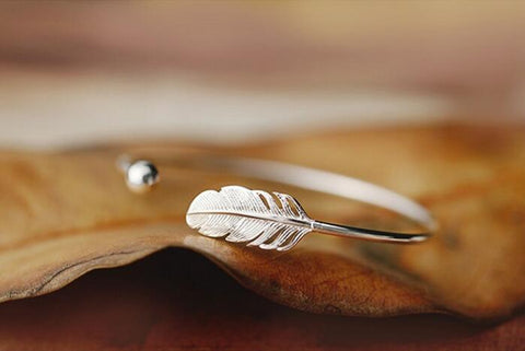 Freedom Feather Bracelet