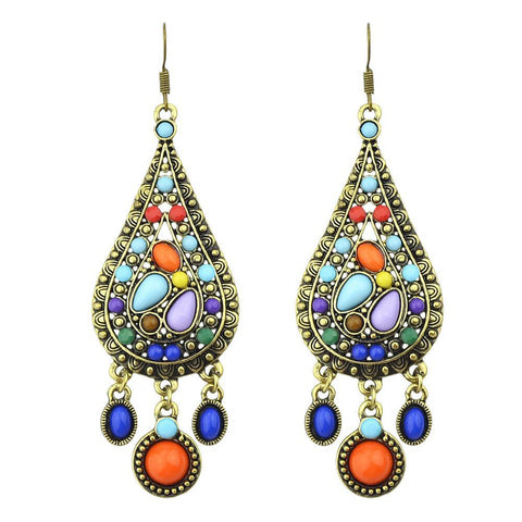 Raindrops of Colour Earrings