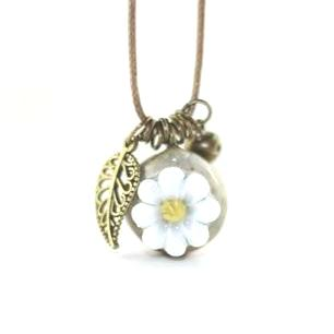 meadow charm necklace