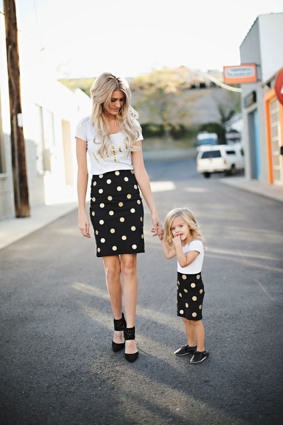 Mommy & Me Polka Dot Set