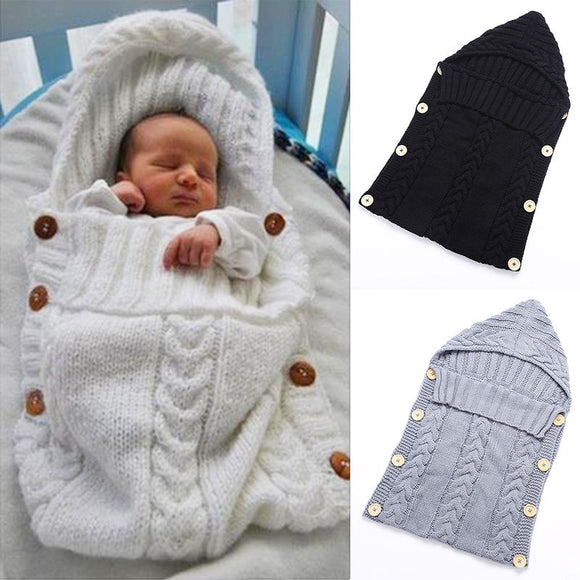 Knitted Swaddle Wrap