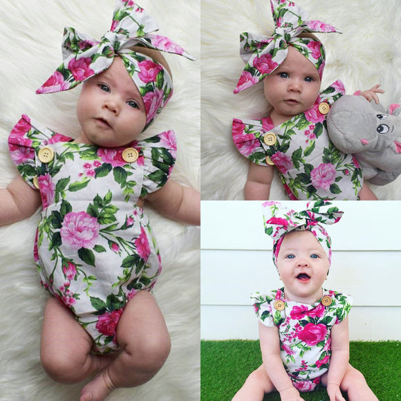 Lillian Bodysuit & Headband Set